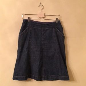 Boden denim skirt